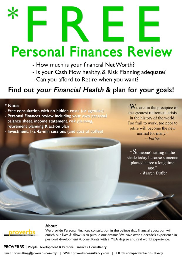 Free Personal Finances Consultation Review